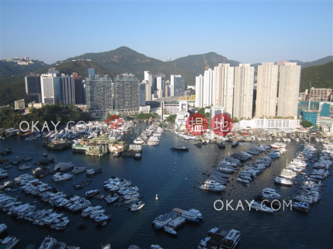 Unique 3 bed on high floor with harbour views & balcony | Rental|Larvotto(Larvotto)Rental Listings (OKAY-R77757)_0