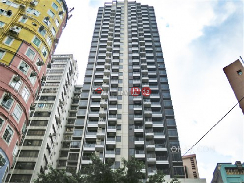 Stylish 1 bedroom on high floor with balcony | Rental | L\' Wanchai 壹嘉 Rental Listings