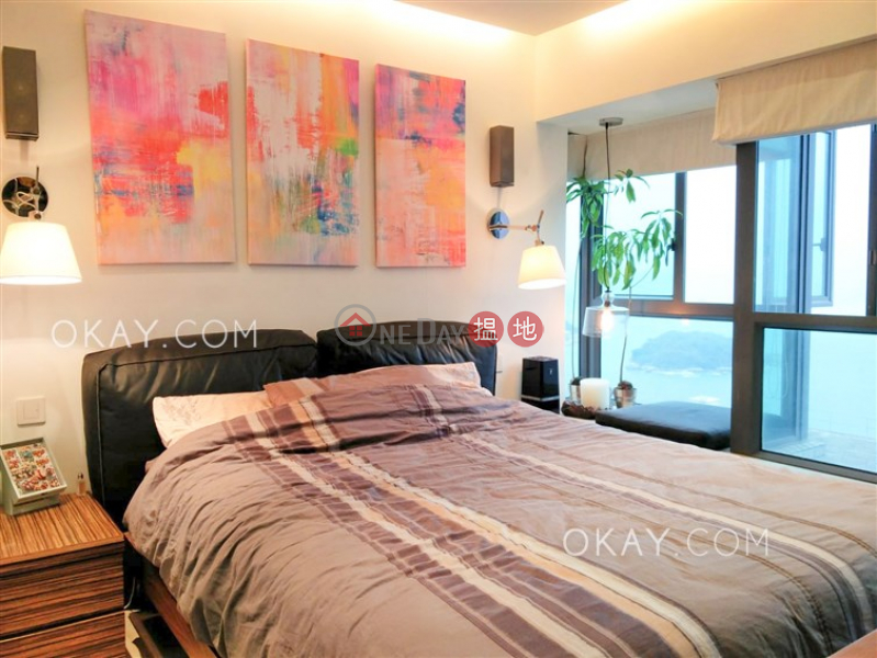 HK$ 36,800/ month, 60 Victoria Road Western District | Stylish 2 bedroom on high floor with sea views | Rental