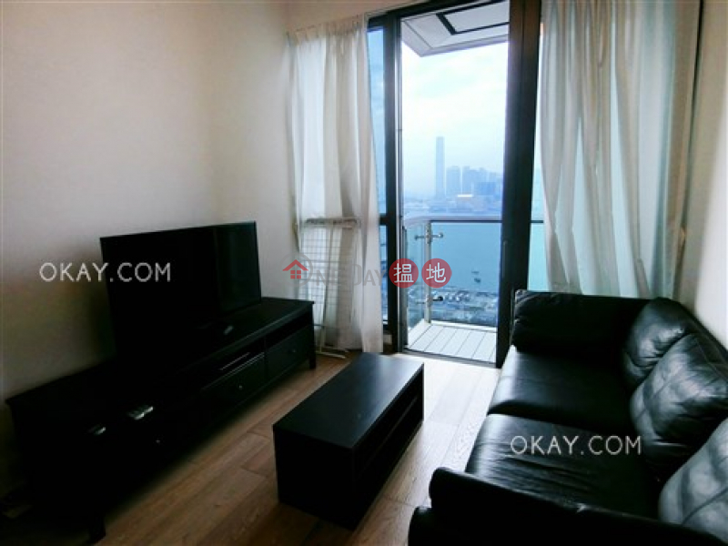 Property Search Hong Kong | OneDay | Residential Rental Listings | Elegant 2 bed on high floor with sea views & balcony | Rental