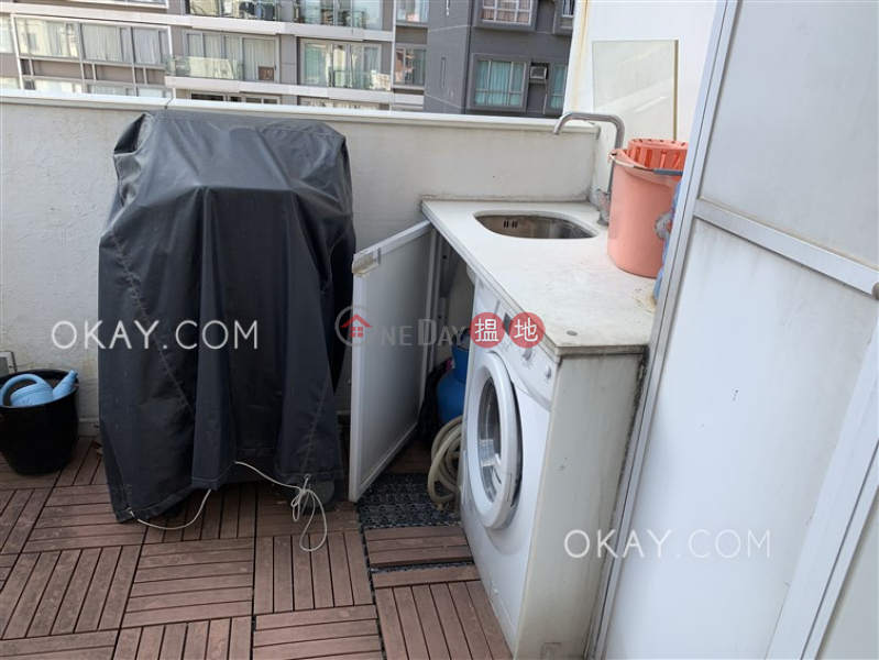 Property Search Hong Kong | OneDay | Residential Rental Listings, Tasteful 1 bedroom on high floor with terrace | Rental