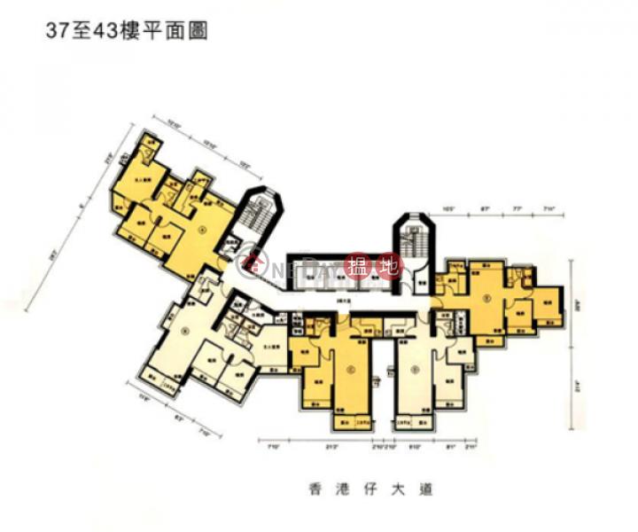 2 Bedroom Flat for Sale in Aberdeen, Jadewater 南灣御園 Sales Listings | Southern District (EVHK43065)