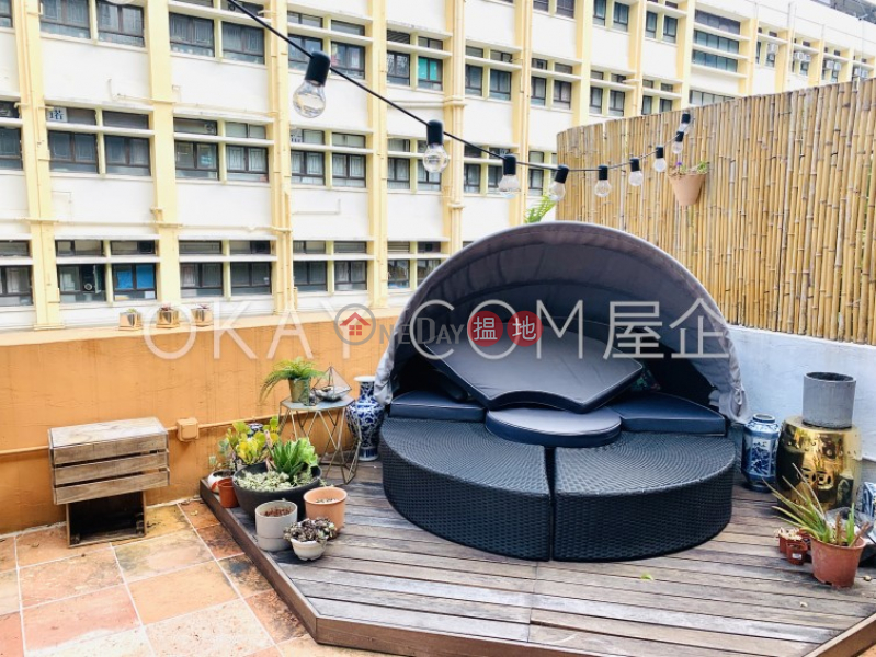 Property Search Hong Kong | OneDay | Residential, Rental Listings | Intimate 1 bedroom on high floor with terrace | Rental