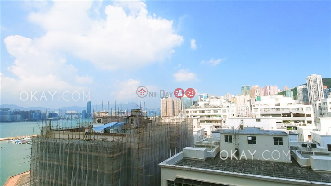 HK$ 46,000/ month, Haywood Mansion | Wan Chai District | Elegant 3 bedroom with harbour views & balcony | Rental