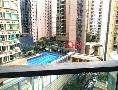 開放式,可養寵物,露台《壹環出租單位》|壹環(One Wan Chai)出租樓盤 (OKAY-R261753)_0