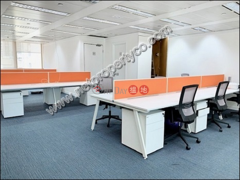 Fully furnished big office space with seaview 51-57 Des Voeux Road Central | Central District | Hong Kong, Rental, HK$ 147,744/ month