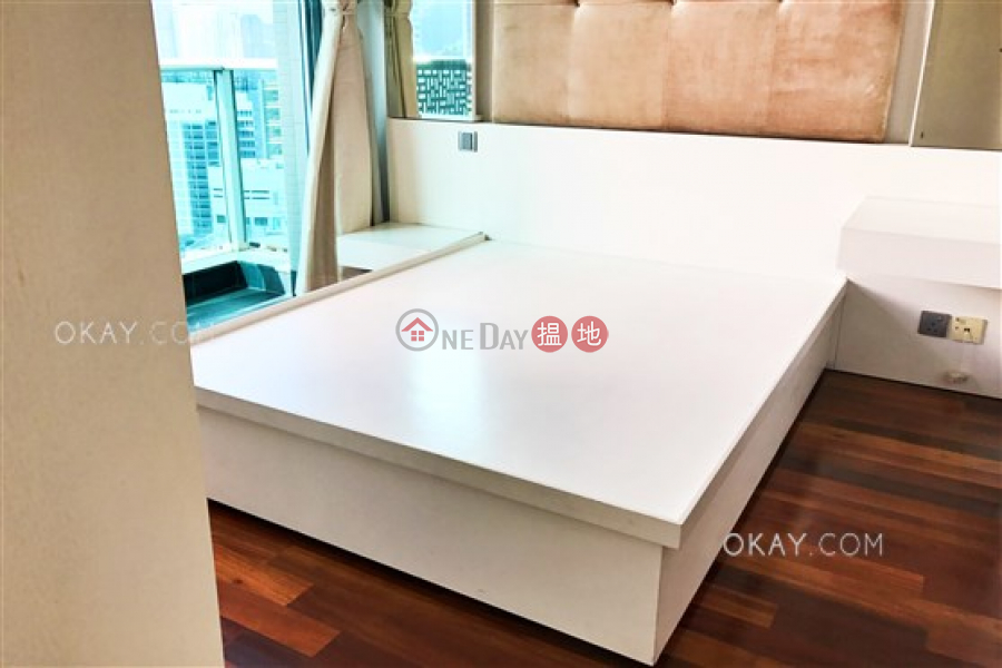 HK$ 26,000/ month | J Residence, Wan Chai District Generous 1 bed on high floor with sea views & balcony | Rental