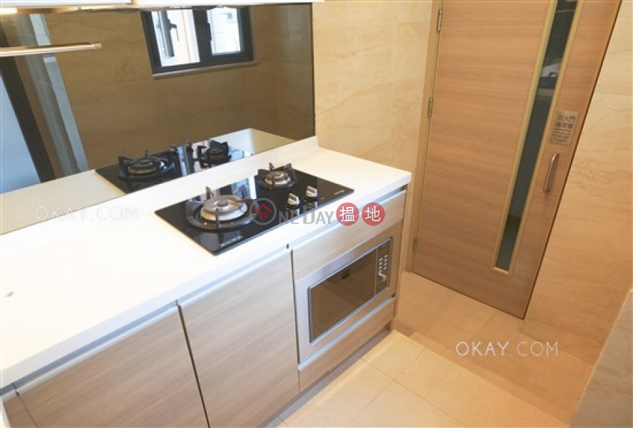 HK$ 29,500/ month, 18 Catchick Street | Western District | Practical 3 bed on high floor with sea views & balcony | Rental
