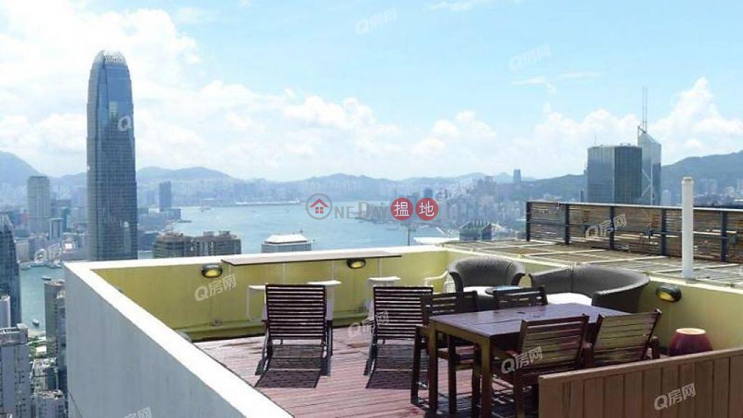 HK$ 55,000/ 月|慧豪閣西區|特色單位,私家空中花園,品味裝修,高層海景《慧豪閣租盤》