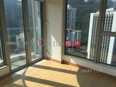 1房1廁,極高層,露台壹環出售單位|壹環(One Wan Chai)出售樓盤 (OKAY-S261554)_0
