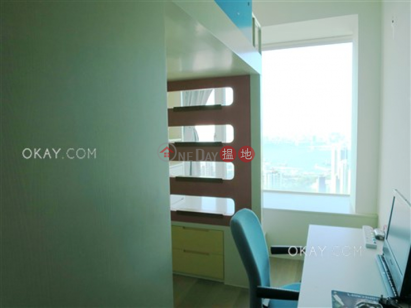 HK$ 55M, The Legend Block 3-5 Wan Chai District Exquisite 4 bed on high floor with balcony & parking | For Sale