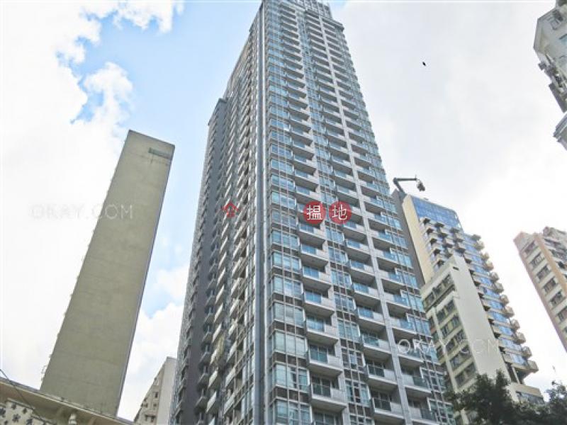 1房1廁,極高層,露台《嘉薈軒出租單位》 嘉薈軒(J Residence)出租樓盤 (OKAY-R62842)
