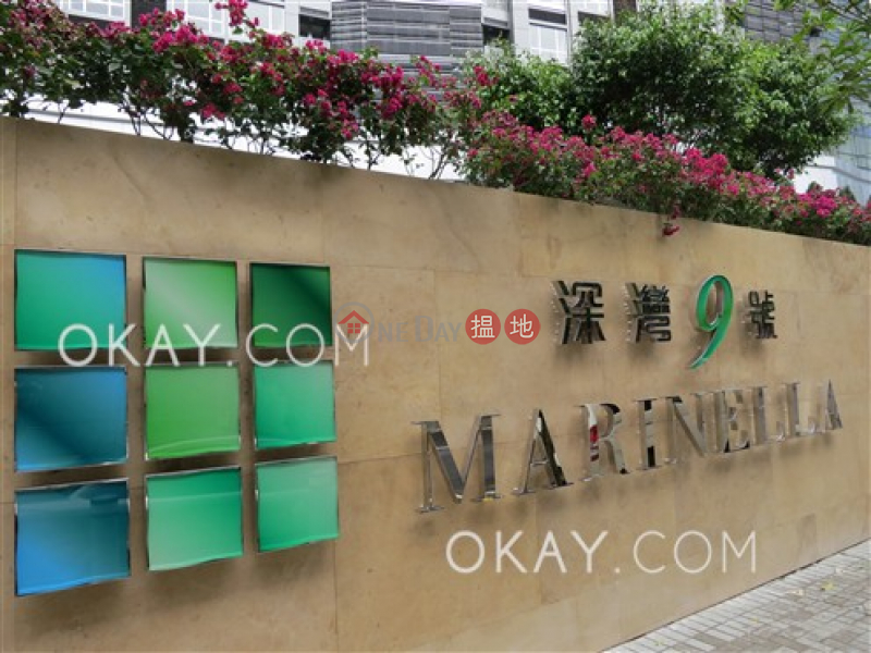 Tasteful 1 bed on high floor with sea views & balcony | For Sale | Marinella Tower 9 深灣 9座 Sales Listings