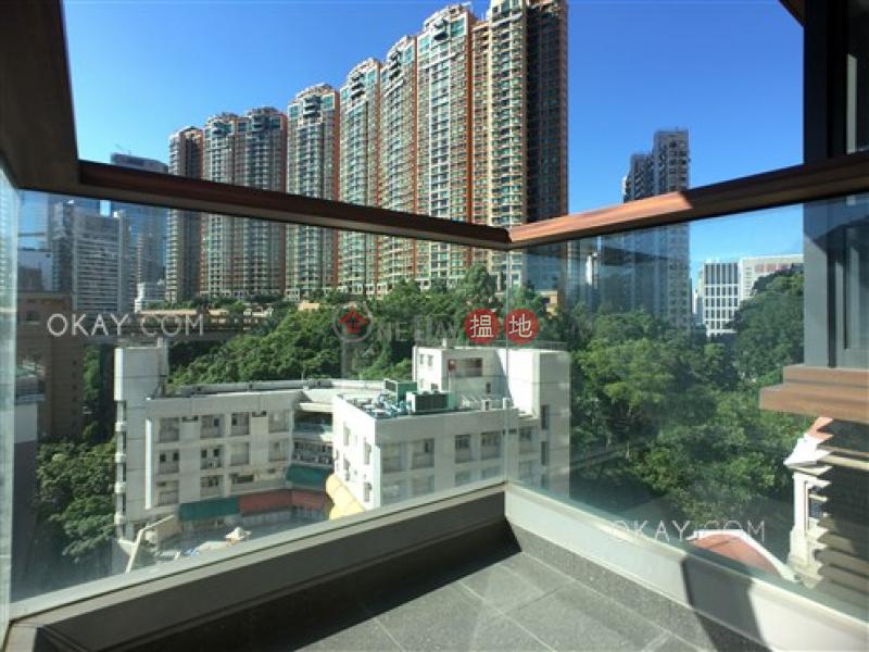 1房1廁,實用率高,星級會所,露台《Tagus Residences出租單位》-8雲地利道 | 灣仔區香港出租-HK$ 27,500/ 月