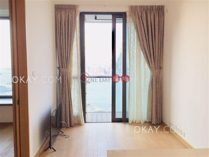 Luxurious 1 bedroom with harbour views & balcony | Rental | The Gloucester 尚匯 Rental Listings