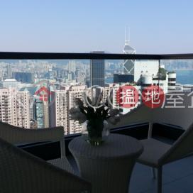 Luxurious 3 bedroom with balcony & parking | Rental|Branksome Grande(Branksome Grande)Rental Listings (OKAY-R25166)_0