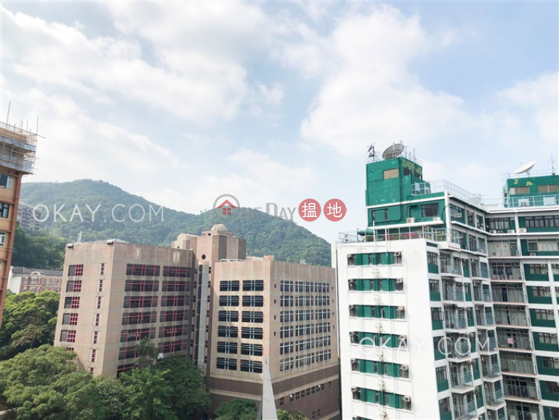 HK$ 36,000/ month   Rhine Court, Western District   Unique 3 bedroom on high floor with balcony   Rental