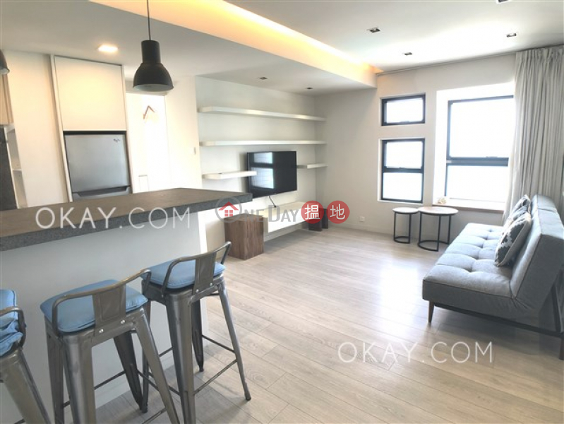 Stylish 1 bed on high floor with sea views & rooftop | Rental | Yick Fung Garden 益豐花園 Rental Listings