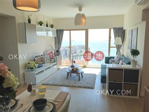 Luxurious 3 bed on high floor with sea views & balcony | Rental|Hong Kong Gold Coast Block 21(Hong Kong Gold Coast Block 21)Rental Listings (OKAY-R261455)_0
