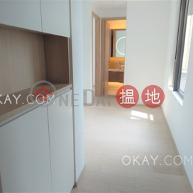 Stylish 1 bedroom on high floor with balcony | Rental