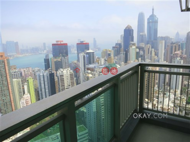 Property Search Hong Kong | OneDay | Residential Sales Listings | Unique 3 bed on high floor with harbour views & balcony | For Sale