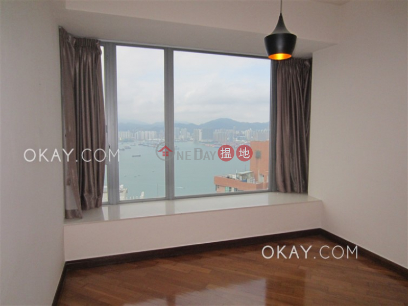 HK$ 50M | One Pacific Heights | Western District Exquisite 3 bed on high floor with sea views & rooftop | For Sale