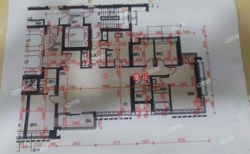 天鑄 1期 8座中層-住宅-出租樓盤HK$ 54,000/ 月