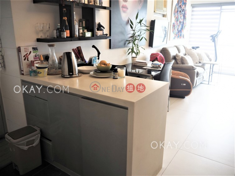 HK$ 9.7M | Jadewater, Southern District | Charming 1 bed on high floor with sea views & balcony | For Sale
