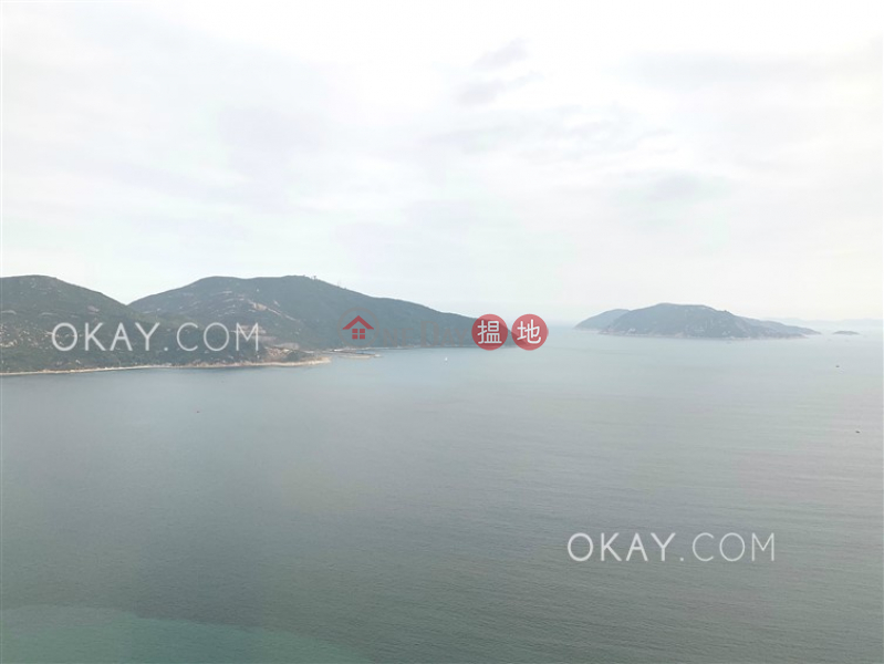 Stylish 4 bed on high floor with sea views & balcony | Rental, 38 Tai Tam Road | Southern District | Hong Kong | Rental | HK$ 71,000/ month