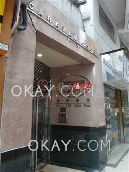 Charming 1 bed on high floor with sea views & rooftop | For Sale | Caravan Court 嘉年華閣 Sales Listings