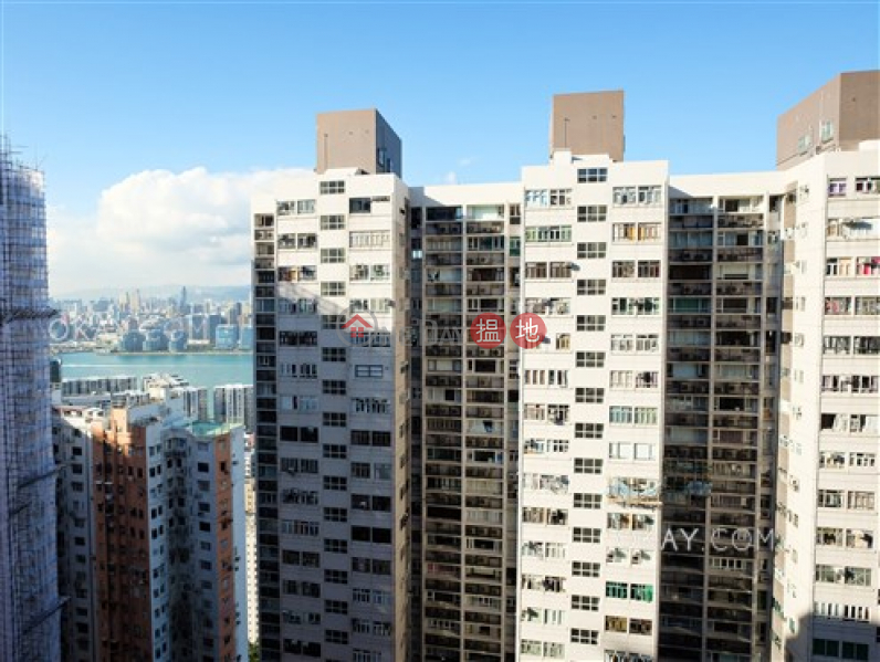 Property Search Hong Kong | OneDay | Residential, Sales Listings | Gorgeous 3 bed on high floor with sea views & balcony | For Sale