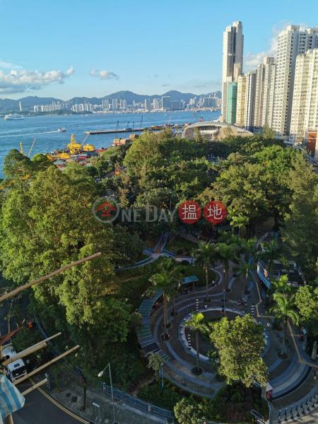 華寶大廈(堅城)1房望園景1新海旁街   西區-香港-出租-HK$ 14,500/ 月
