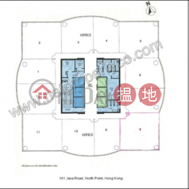 Spacious office for rent in North Point|Eastern DistrictK Wah Centre(K Wah Centre)Rental Listings (A063645)_0