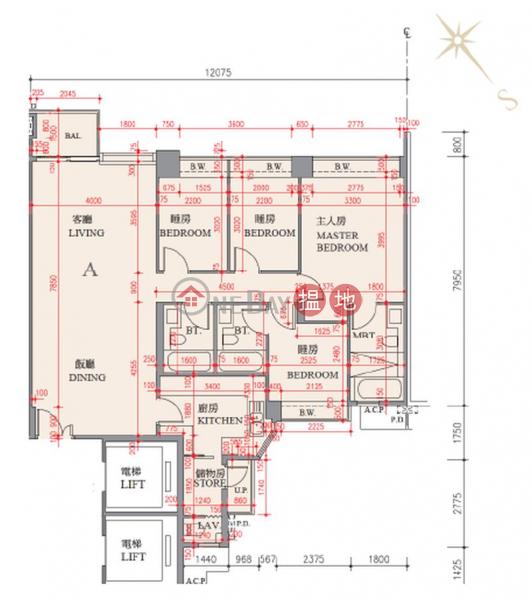 香港搵樓|租樓|二手盤|買樓| 搵地 | 住宅出租樓盤-四房原則(兩套房)工人套房, 內園清靜