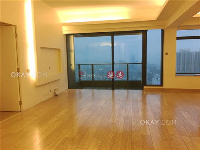 Property Search Hong Kong | OneDay | Residential Rental Listings | Stylish 3 bed on high floor with harbour views | Rental