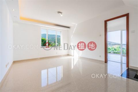 Gorgeous house with sea views, rooftop & terrace | For Sale|Tai Hang Hau Village(Tai Hang Hau Village)Sales Listings (OKAY-S356804)_0