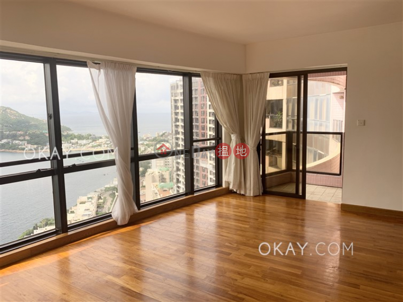 Unique 3 bedroom on high floor with sea views & balcony | Rental | Pacific View 浪琴園 Rental Listings
