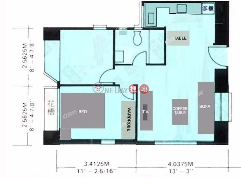 豪宅地段,投資首選,實用靚則,有匙即睇《廣堅大廈買賣盤》22-22a堅道   西區-香港 出售HK$ 950萬