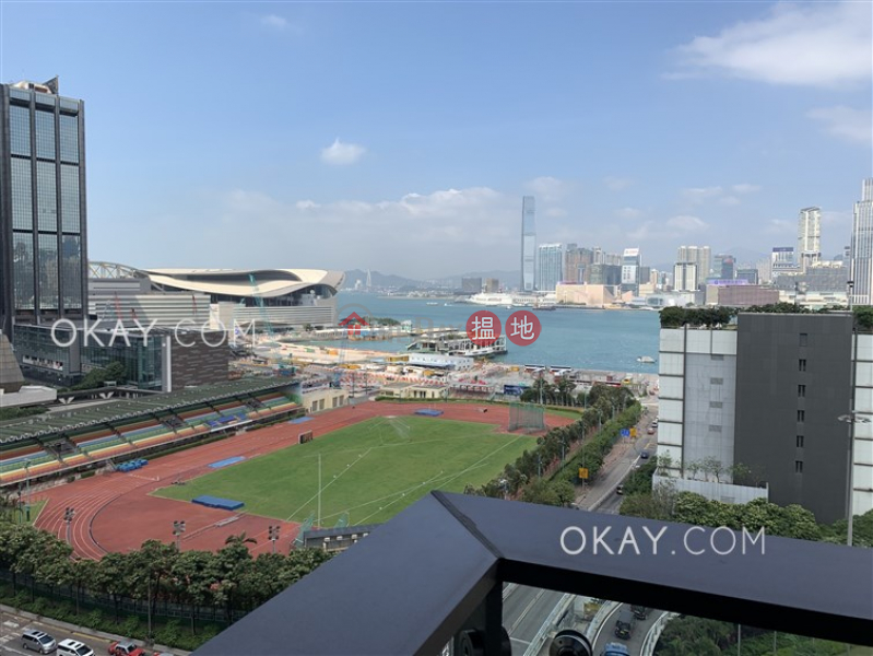 HK$ 26,000/ month | The Gloucester, Wan Chai District Charming 1 bedroom with harbour views & balcony | Rental