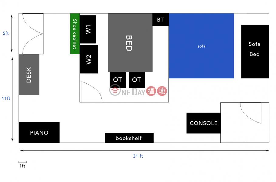 香港荃灣Loft space出售