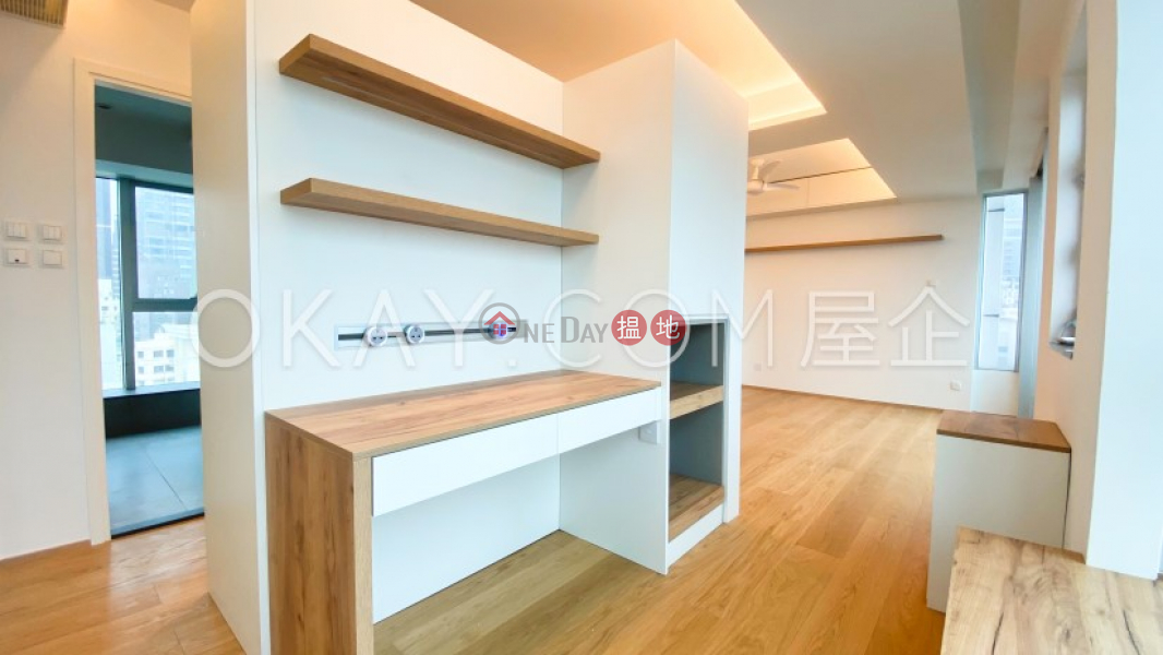 HK$ 48,000/ month Cherry Crest   Central District Popular 1 bedroom on high floor with balcony   Rental