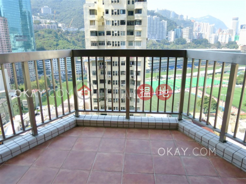 Efficient 3 bedroom with racecourse views, balcony | Rental|Ventris Place(Ventris Place)Rental Listings (OKAY-R7381)_0