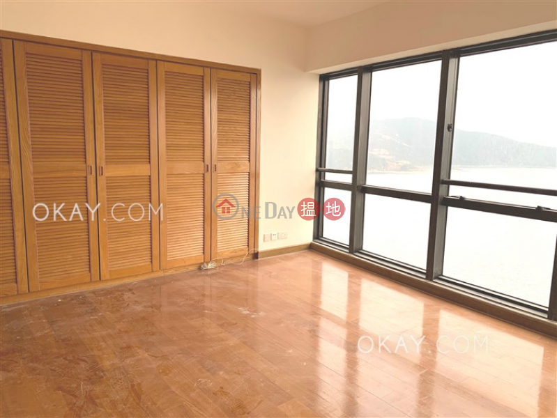 HK$ 78,500/ month   Pacific View   Southern District, Rare 4 bedroom on high floor with balcony & parking   Rental