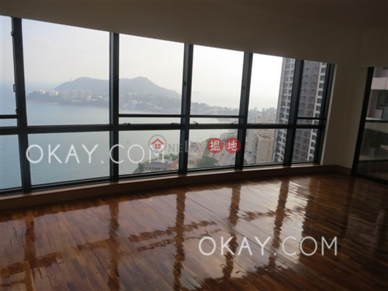 Lovely 3 bedroom on high floor with sea views & balcony | Rental, 38 Tai Tam Road | Southern District, Hong Kong | Rental HK$ 63,500/ month