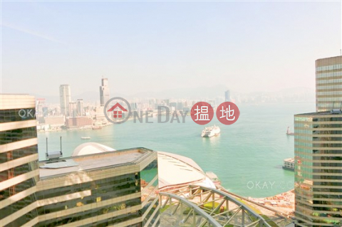 Luxurious 3 bedroom on high floor with harbour views | For Sale|Convention Plaza Apartments(Convention Plaza Apartments)Sales Listings (OKAY-S82695)_0