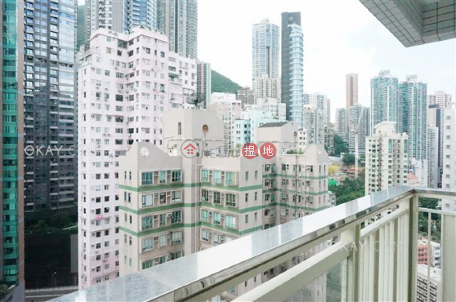 Property Search Hong Kong | OneDay | Residential | Rental Listings, Intimate 2 bedroom on high floor with balcony | Rental
