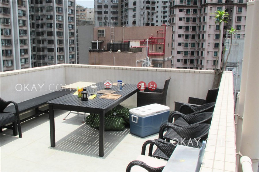 Property Search Hong Kong   OneDay   Residential Rental Listings, Practical 1 bed on high floor with rooftop & balcony   Rental