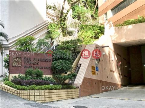 3房2廁,實用率高,露台金山花園出租單位|金山花園(San Francisco Towers)出租樓盤 (OKAY-R91905)_0