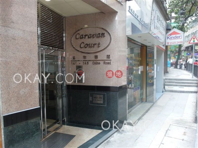 HK$ 11M Caravan Court, Central District Stylish 1 bed on high floor with sea views & rooftop | For Sale