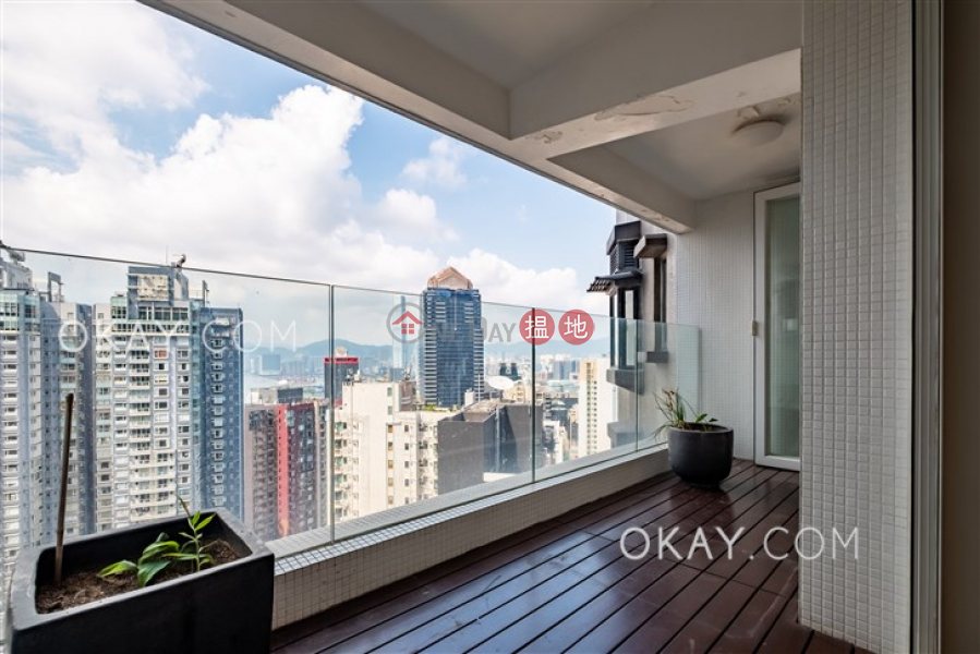Property Search Hong Kong | OneDay | Residential | Sales Listings | Efficient 3 bed on high floor with balcony & parking | For Sale